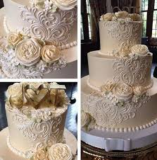 wedding cake icing best 25 buttercream wedding cake ideas on
