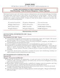 procurement resume purchasing and procurement resume exle corporatereal estate