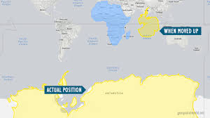 Map Distortion Maps That Show Why Some Countries Are Not As Big As They Look