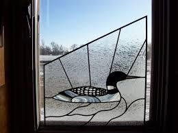 glass loon ornament search stained glass ideas