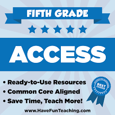 members only fifth grade access inclusive resources