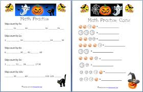halloween printable math pages u2013 festival collections