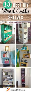 what of wood is best for shelves 13 best creative diy wood crate shelf ideas and designs for 2021