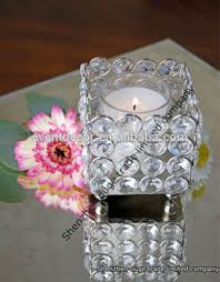 wedding table decorations candle holders crystal tea light candle holders wedding table decoration for