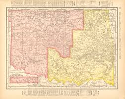 Chicago Map 1890 by Antique Maps Of Oklahoma