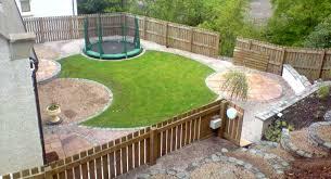 Trampoline Backyard Trampoline Backyard Landscaping