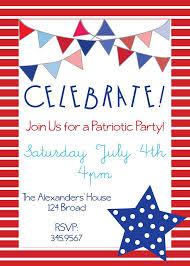 patriotic invitation templates free orax info