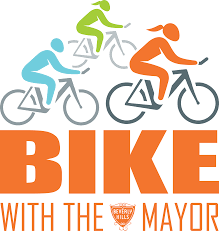 bike with the mayor