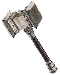 23 inch hammer modeled after weapon used in the new movie warcraft