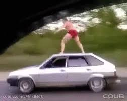 Russian Car Meme - russian car surfing gif on imgur