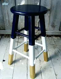wondrous painted bar stool picture an can you paint metal stools
