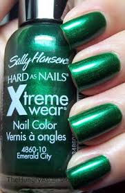 sally hansen xtreme wear emerald city nailed it pinterest
