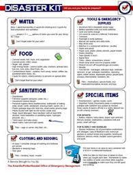 Emergency Preparedness Worksheet Pet Disaster Kit Checklist Pets Emergency Disasterkit