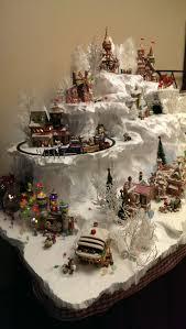 239 best christmas villages train set towns images on pinterest