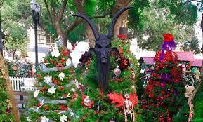 goat topper stolen from satanist s tree