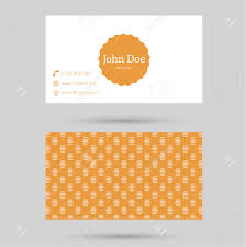Minimalism Design Trendy Business Card Template With Vintage Label And Elegant
