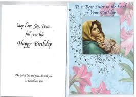 birthday greeting card for religious sister or nun envelope