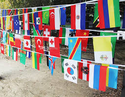 Decorative Flags Wholesale 2017 8 World Country Flags String Countries Flag Foreign Flags