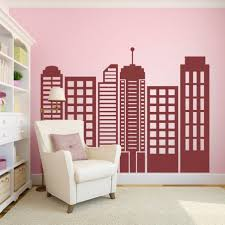 amazing nursery vinyl wall decals canada vinyl wall mural wall trendy custom vinyl wall decals calgary city skyline silhouette wall custom vinyl wall decals canada