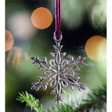snowflake pewter christmas ornament i would like to have