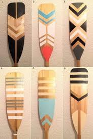 Decorative Canoe Paddles Customizable Decorative Canoe Paddle By Wanttotrydiy On Etsy Diy