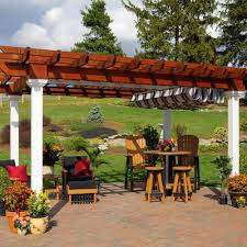 Gazebo With Awning Pergola Shade Canopy Country Lane Gazebos