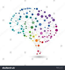 Human Brain Mapping Creative Concept Human Brain Eps10 Vector Stock Vector 565413802