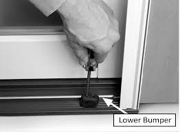 Removing A Patio Door Removing Wood Sliding Patio Door Panels