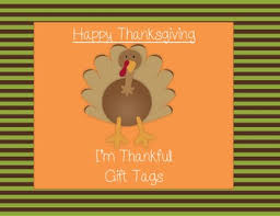 thanksgiving gift tags by overton teachers pay teachers