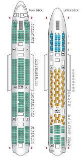 plan siege a380 air a380 800 airways seat maps reviews seatplans com