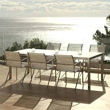 modern outdoor table and chairs modern aluminum outdoor furniture fandengi club