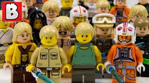 vauxhall lego every lego luke skywalker ever rare cloud city luke u0026 dagobah