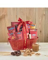ghirardelli gift baskets classic ghirardelli gift basket in bradenton fl oneco florist