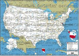 Map Of United States Of America by Geoatlas Countries United States Of America Map City