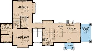 House Plans 2 Floors Craftsman Style House Plan 2 Beds 3 00 Baths 1329 Sq Ft Plan 923 23