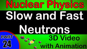 slow and fast neutrons nuclear physics class 12 physics subject