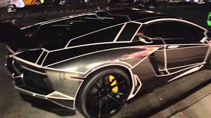 Lamborghini Aventador Black And Red - tron lamborghini aventador black u0026 white youtube