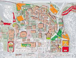 Colorado State University Campus Map by New Stadium Aztecmesa