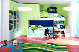 bedroom modern kids bedroom bunk bed idea with metal ladder and