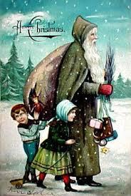 52 santas green images father christmas