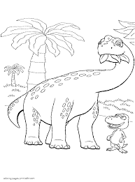 herbivorous dinosaur coloring pages