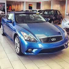 2013 infiniti g37xs coupe in lapis blue with graphite interior