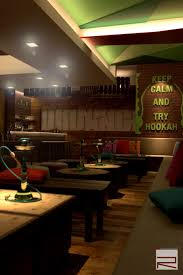 our latest project interior of hookah lounge u0026 bar in delhi