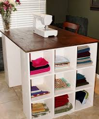 Diy Sewing Desk 70 Best Craft Room Images On Pinterest Craft Rooms Offices And