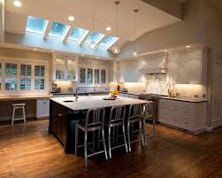 Best Kitchen Lighting Ideas by Downlights For Vaulted Ceilings With Cathedral Ceiling Kitchen