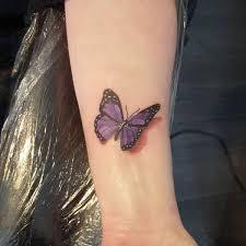 3d butterfly wrist tattoos butterfly wrist