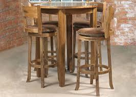wooden high bar table bar height pub table adjustable round regarding high tables design