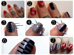 25 best ideas about tape nail art on pinterest easy nail art nail