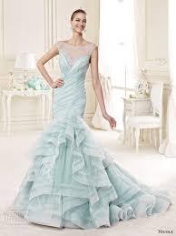 Blue Wedding Dress Nicole 2015 Wedding Dresses Wedding Inspirasi