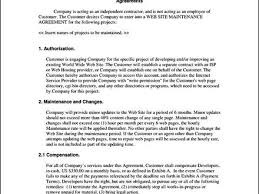 terms of service agreement template sample form software as a